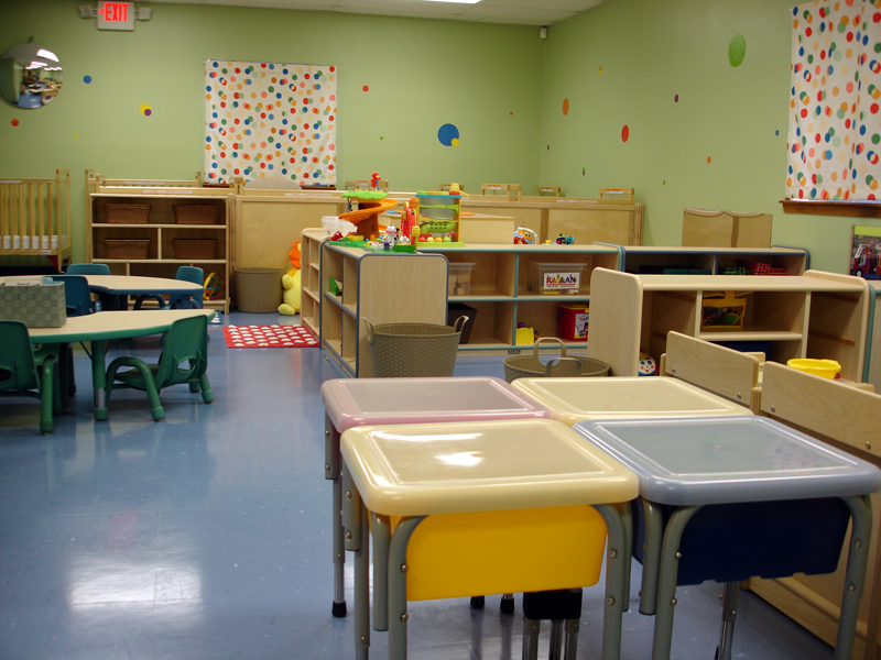 Messy play and overall class view